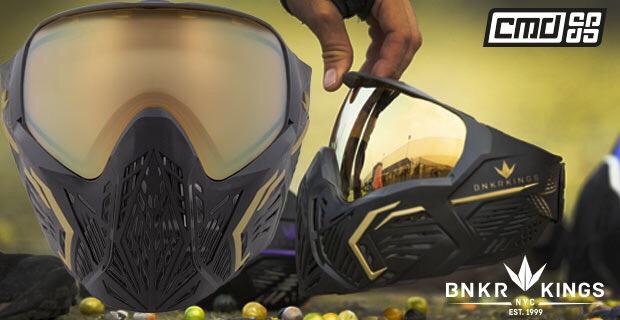Bunker Kings CMD paintball maszk,paintball maszk, páramentes paintball maszk